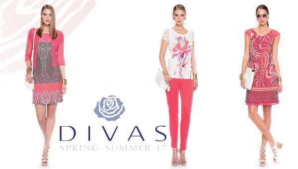 Divas collectie lente en zomer 2017