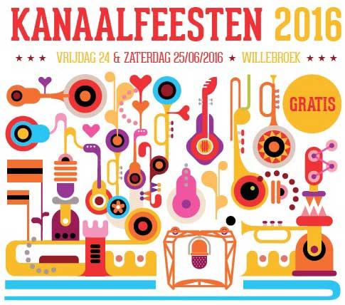 Kanaalfeesten 2016 programma
