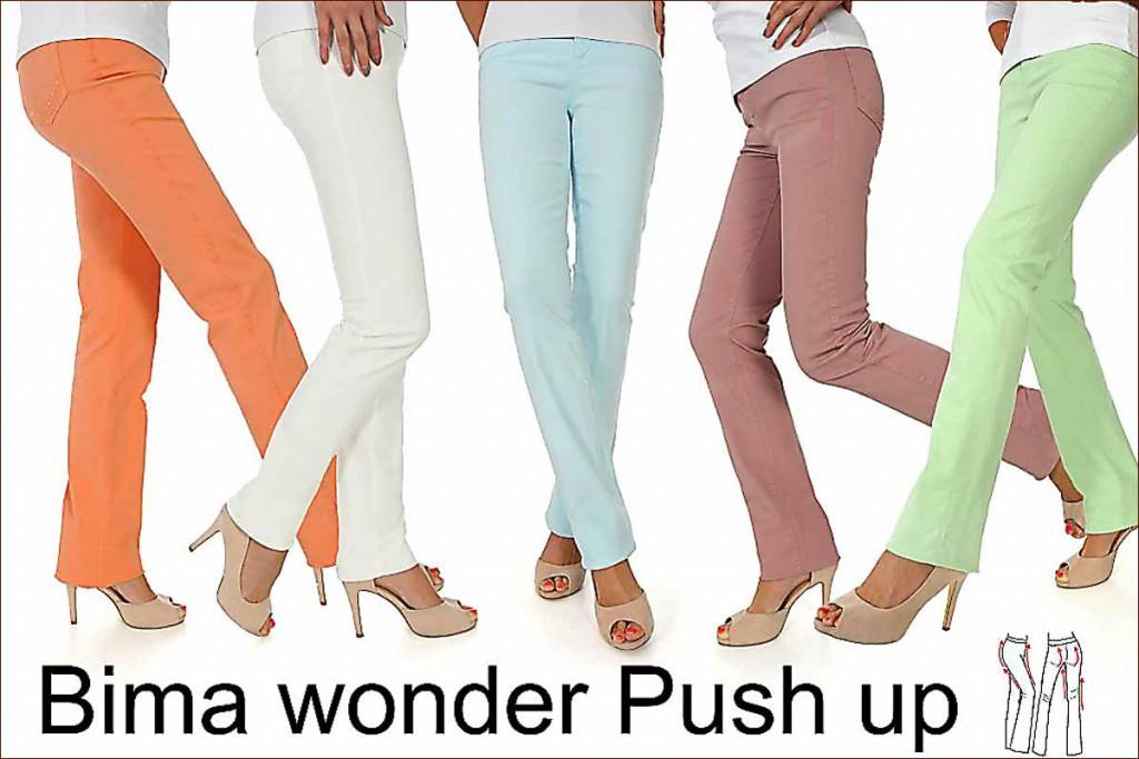 Bima wonder push-up broek by Diversa