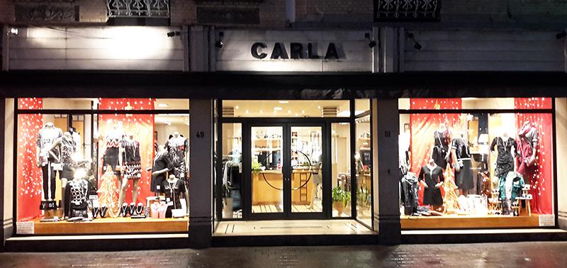 Boetiek CARLA Womenswear website