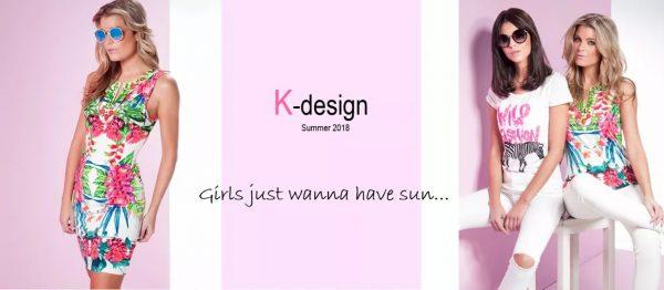 K-design collectie lente en zomer 2018