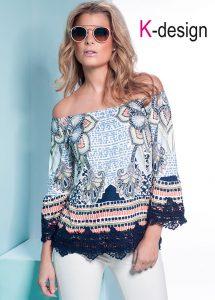 K-design bloes met trompetmouw