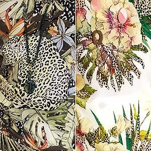 modetrends met tropische prints collectie lente en zomer 2019