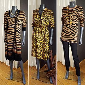 Yest: tijger- en luipaard print