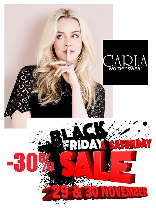 Black Friday Weekend tot 30% korting!