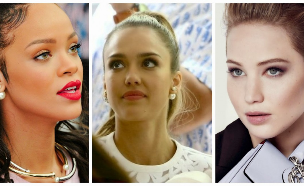 Tribal earrings pearls Celebrities