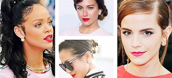 Tribal oorringen earrings celebrities